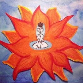 Meditative Monk
