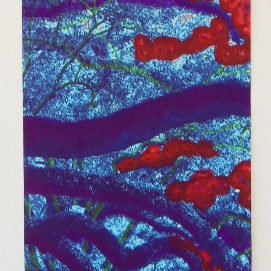 Alley of the Wise Oaks, 2ftx7ft 2015